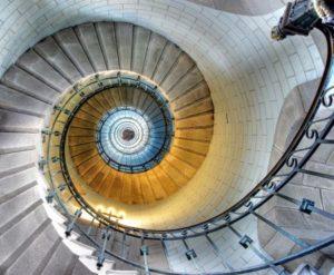 escalier hypnotique